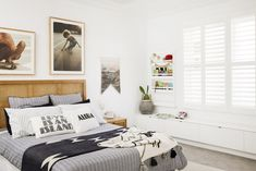 This inspo pinned from Three Birds Renovations is giving us major ideas for gorgeous bedroom designs! Surf Room, Three Birds Renovations, Decor Inspiration, Ikea Bed, Kids Bedroom, Kids Rooms, Bedroom Decor, Cool Bedrooms For Boys, Boy Bedrooms