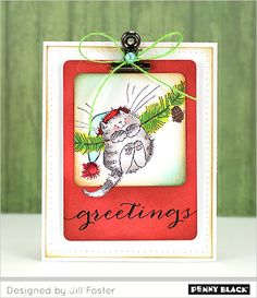 NEW Transparent Stamps: Christmas Critters