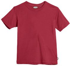 Solid Short Sleeve Tshirt 100% Cotton - Boys Red - 3T City Threads,http://www.amazon.com/dp/B00HNW96OY/ref=cm_sw_r_pi_dp_J1Zwtb043JYQEJ0T