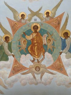 spasitel icon Order Of Angels, Religion, Planets And Moons, Russian Icons, Byzantine Icons, Effigy, Orthodox Icons, Sacred Art, Ancient Aliens