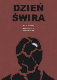 """Popatrz na mój projekt w @Behance: """"Plakat filmowy """"Dzień Świra"""""""" https://www.behance.net/gallery/56443615/Plakat-filmowy-Dzien-Swira"""