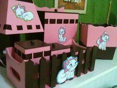Kit Baby Gatinha Marie Um Mimo de presente!