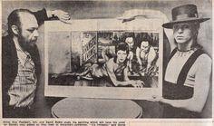 Bowie and Diamond Dogs artist Guy Peellaert.