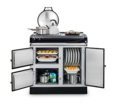 Oven Design, Kitchen Design, Aga Oven, Electric Aga, Oven Canning, Keep Food Warm, Roasting Tins, Large Plates, Heating Element