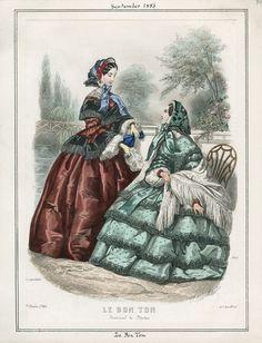 September, 1856 - Le Bon Ton