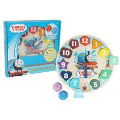 Thomas the Tank Engine Wooden Clock | Toys R Us Australia