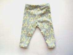 Mod Triangles Leggings Organic Cotton Toddler/ Child by KindredOAK, $38.00