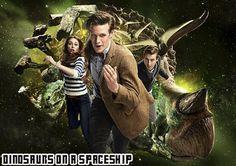 Un vaisseau spatial se précipite vers une destruction certaine, à moins que le Docteur ne puisse le sauver, lui et sa cargaison impossible de dinosaures.