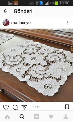 This Pin was discovered by Olg Cut Work, Elsa, Embroidery, Rugs, Patterns, Farmhouse Rugs, Godmothers, Ideas, Embroidery Machines