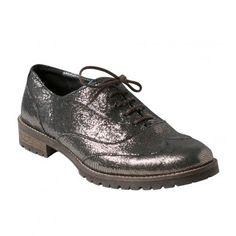 Derbies irisées, Chaussures