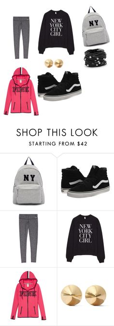 """""""New York City"""" by mahogonylbrown ❤ liked on Polyvore featuring beauty, Joshua's, Vans, Eddie Borgo and Chico's"""