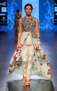 Rohit Bal, Lakme Fashion Week, Indian Ethnic, Beaded Embroidery, Indian Outfits, Ready To Wear, How To Wear, Dresses, Style