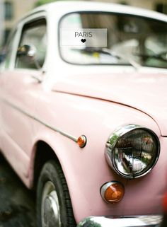 vintage pink car--if I ever really DO have a pink car, THIS is the shade of baby-pink that is perfect! 8531 Santa Monica Blvd West Hollywood, CA 90069 - Call or stop by anytime. UPDATE: Now ANYONE can call our Drug and Drama Helpline Free at 310-855-9168.
