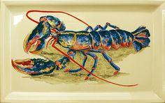 """Résultat de recherche d'images pour """"peinture homard"""""""