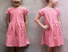 have this fabric - had not thought to make a dress. This is very sweet!