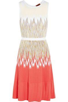 Missoni|Zigzag crochet-knit dress|NET-A-PORTER.COM