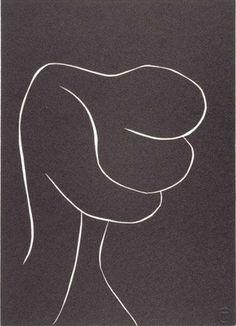 Henri Matisse- The Embrace, No. 4. 1943- 44.