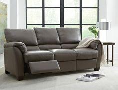 B693 PWR Leather Sofa - Art Van Furniture
