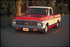1972 pickup - My Daddy's was green and white. Had the coldest air-conditioner known to man and the power steering had the easiest touch ever.