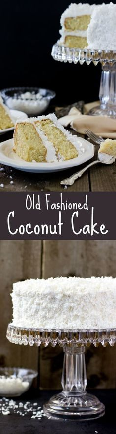 Old Fashioned Coconut Cake | Food And Cake Recipes