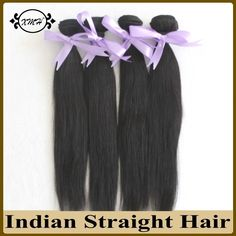 107.20$  Watch now - http://aiusf.worlditems.win/all/product.php?id=32532763105 - 4Bundles Unprocessed Indian Virgin Hair Weave Straight Human Hair Extensions 8A Hotsale Indian Human Hair Machine Weft 14-26Inch