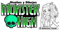 Resultado de imagen de dibujos monster high