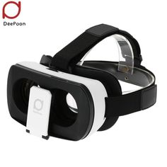 3D Movie Game VR Virtual Reality Glasses DeePoon V3 Headset iPhone Samsung Android Compatible