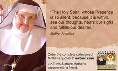 #MondayMotivation #MotherAngelica #EWTN #Catholic