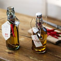 Chilli oil is perfect to give as an edible present for use in salad dressings, stir-fries or on pizzas