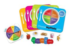 Preschool craft my healthy plate/ choose your plate food