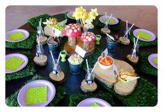 Gruffalo party Gruffalo Party, Birthday Ideas, Birthday Parties, Party Themes, Table Decorations, Cake, Desserts, Food, Anniversary Ideas