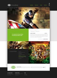 Onsite #interactive #template #webdesign #minimal