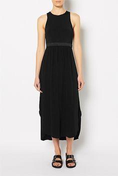 Dresses - Cutaway Bodice Maxi Dress