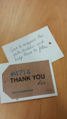 Dear Alumni, thank you for helping those that will follow in your footsteps. #4714UoB #StudentEngageDay