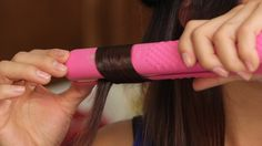 Step 6 - Clamp Flat Iron & Curl