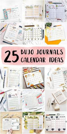 Cleaning Bullet Journal Monthly Calendar Method - Bullet Journal Ideas #howtomakeabulletjournal #bulletjournalpage #dottedbulletjournals