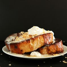 Coconut Cream Pie French Toast | Minimalist Baker Recipes