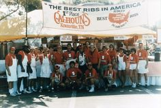 Group shot of the winners of the Best Ribs In America!