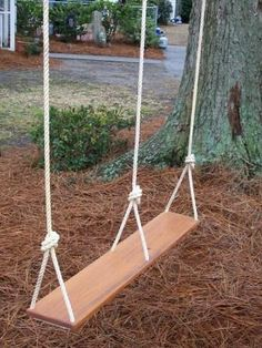 double tree swing... my newest wish for our yard! ...........click here to find out more http://googydog.com