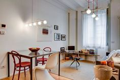 A cozy fresh apartment in central Milan by Nomade Architettura http://www.nomadearchitettura.com/#all