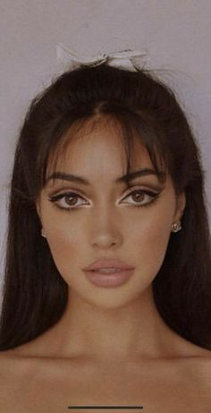 60s Makeup, Edgy Makeup, Makeup Eye Looks, Makeup Goals, Pretty Makeup, Skin Makeup, Makeup Inspo, Makeup Inspiration, Makeup Tips