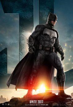 Un nuevo cartel de Justice League: Batman