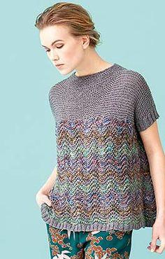 Free and Crochet Sweater Pattern! This Year Modern and Stylish Crochet Pattern Ideas Part 49 ; knitting sweaters for beginners; Knitwear Fashion, Knit Fashion, Moda Crochet, Crochet Top, Free Crochet, Summer Knitting, Hand Knitting, Knitting Sweaters, Top Pattern