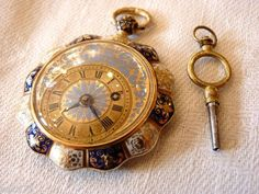 Schmuck-Taschenuhr mit Cylinderhemmung Moulinié frères und Cie, Genf 1835 by Antique Jewelry, Gold Jewelry, Cool Clocks, Amazing Watches, Antique Watches, Fashion Watches, Jewelry Crafts, Jewelry Watches, Pocket Watches