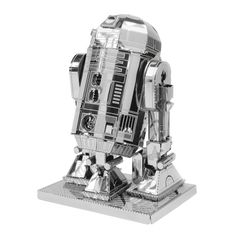 Metal Earth is a collection of intricately designed 3D metal model building kits. Each kit consists of remarkably detailed laser etching cut onto one or more four-inch square sheets of thin stainless steel, and now comes in Star Wars themed metal kits.