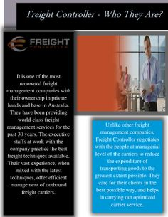 Freight Controller - Who They Are?