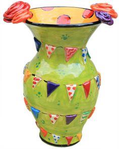 Large Vase Bunting