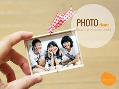 DIY Tutorial: Ice Cream Stick Photo Charm | Mini photo frame you can bring anywhere!! @onelmon