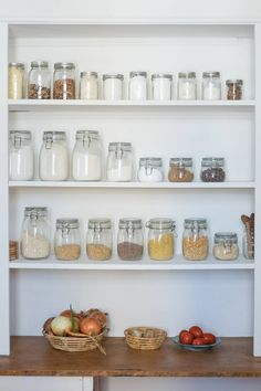 Why Shallow Pantry Shelves Are The Best Shelves Why Shallow Pantry Shelves Are The Best Shelves You May Think You Need Want Luxuriously Deep Shelves In Reality You Do Not Why Shallow Pantry Shelves Are The Best Shelves Kitchen Storage Organizing Tutorial Kitchen Cabinet Shelves, Pantry Shelving, Best Kitchen Cabinets, Kitchen Cabinet Organization, Kitchen Pantry, Kitchen Storage, Organization Ideas, Organizing Tips, Storage Shelves