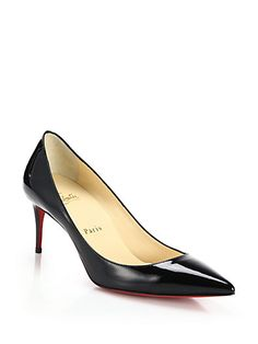 Decollete Patent Leather Pumps - Zoom - Saks Fifth Avenue Mobile